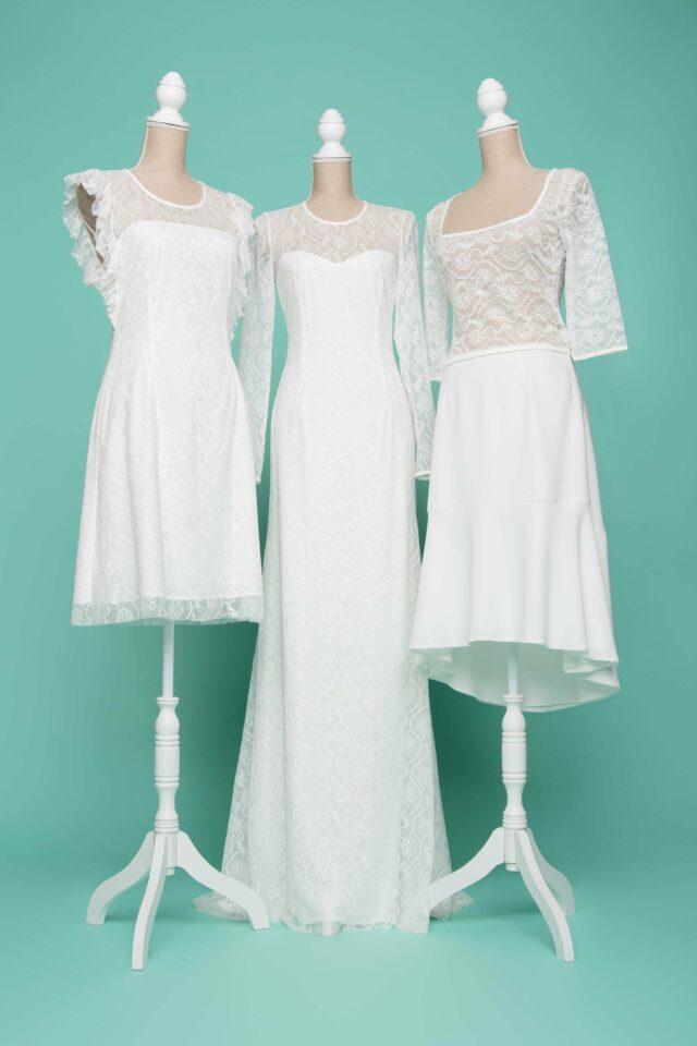 nachhaltige curvy Brautkleider